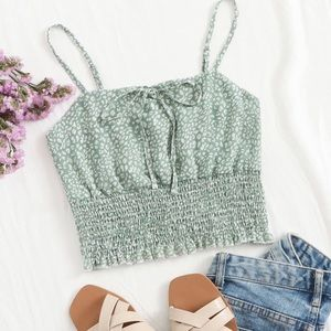 💚3/$10:NWOT Romwe- Ruched Cami Top, SIZE: S